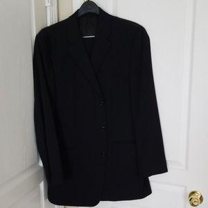 Black Calvin Klein Mens Suit 42L